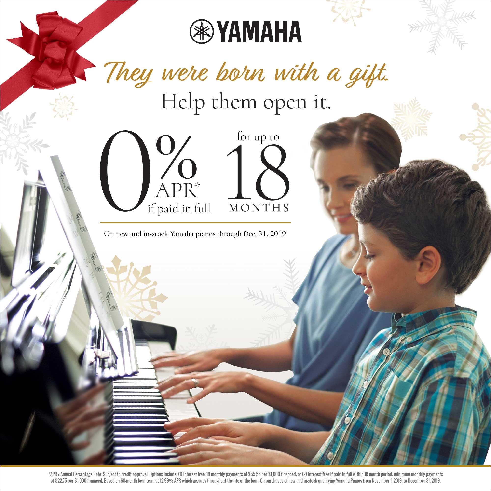 Yamaha Fall 2019 Promotion